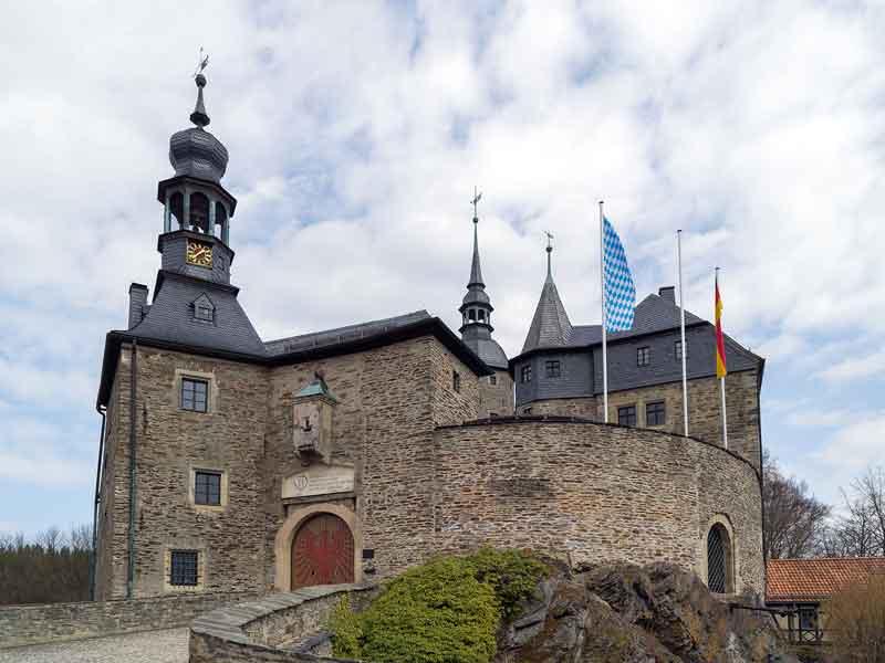 Burg Lauenstein, Frankenwald