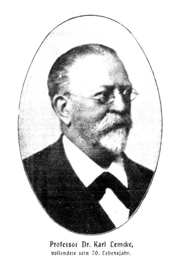 Lemcke Carl von