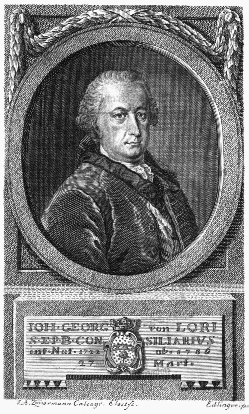 Lori Johann Georg von
