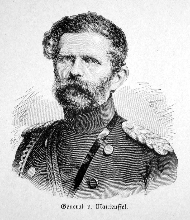 Manteuffel Edwin Freiherr von