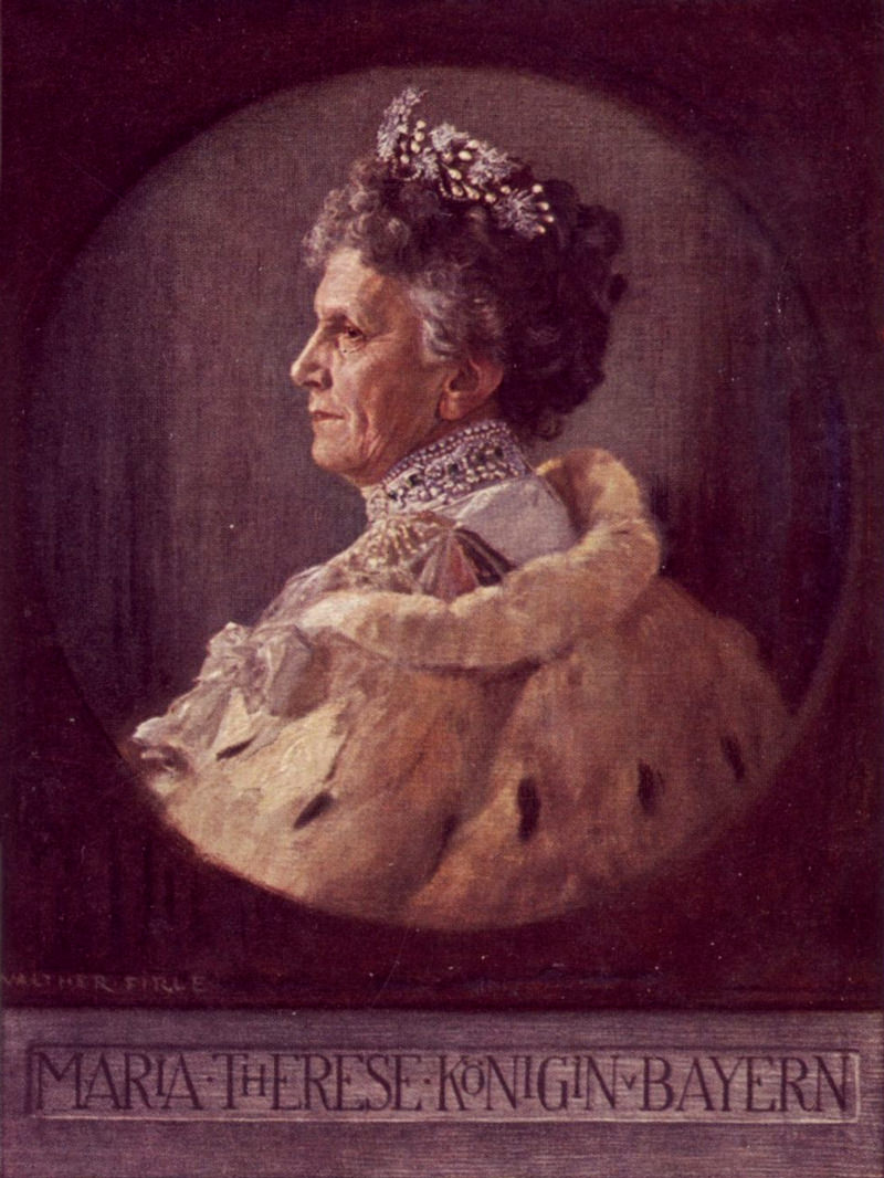 Königin Maria Theresia Henriette Dorothea von Baye