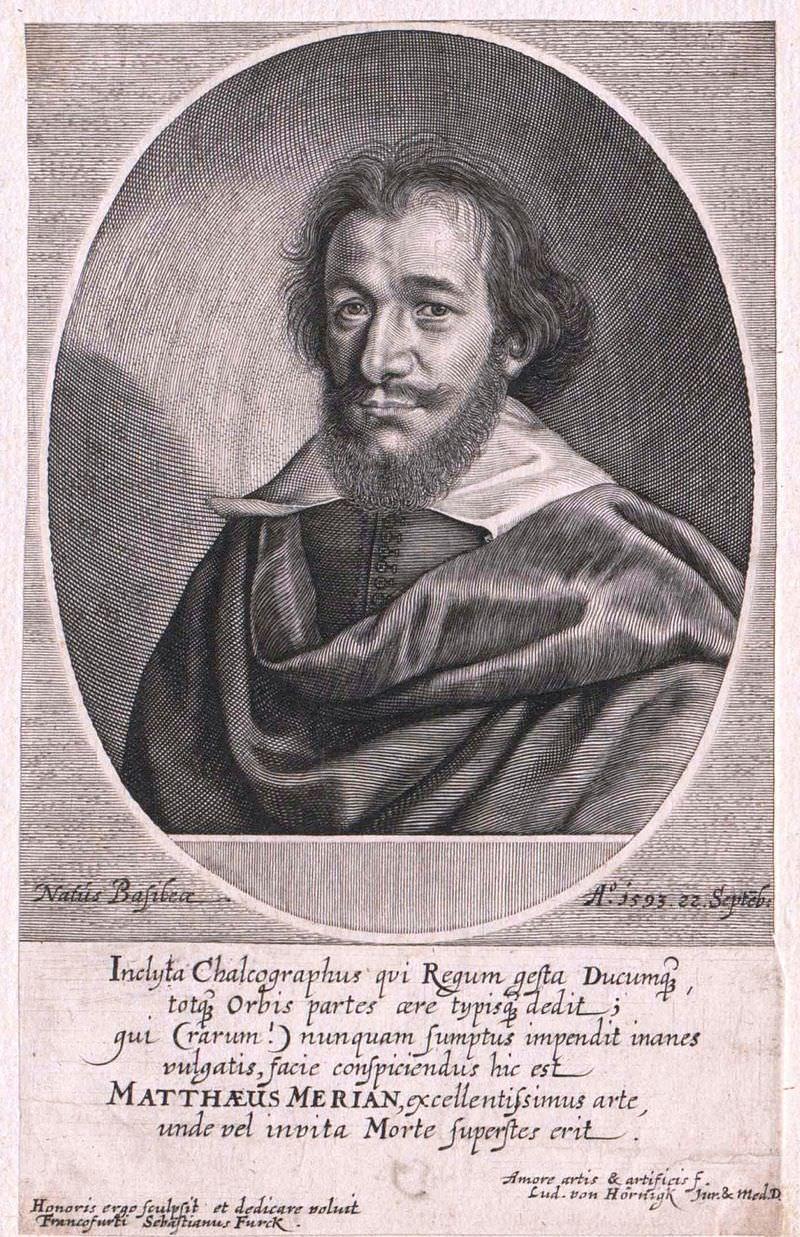 Merian Matthäus  d. Ä.