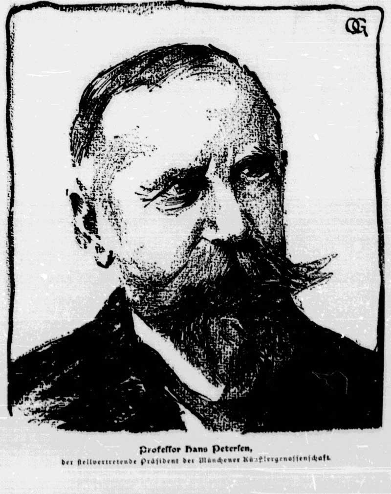 Petersen Hans Ritter von