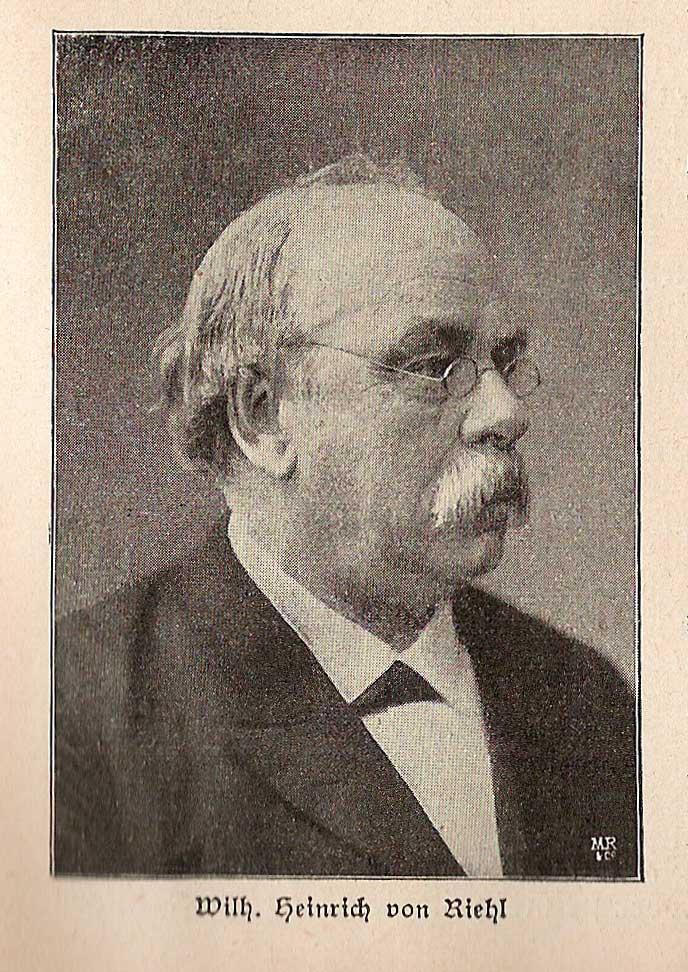 Riehl Wilhelm Heinrich von