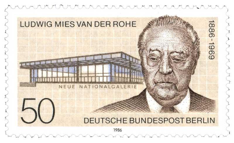 Rohe Ludwig Mies van der