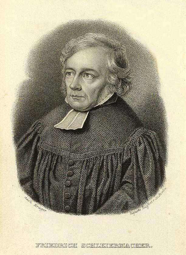 Schleiermacher Friedrich Daniel Ernst