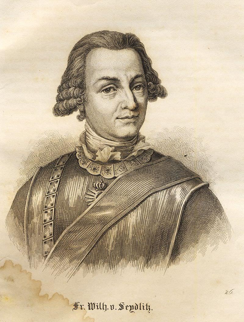 Seydlitz Friedrich Wilhelm von