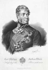 Karl Philipp Fürst von  Wrede